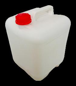 15L closed plastic bucket