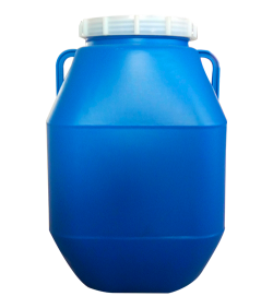 50 liter large opening double-layer plastic bucket