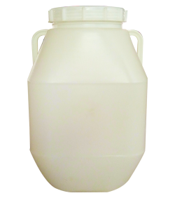50L large-opening double-layer plastic bucket